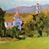 Thomas Aquinas, Santa Paula, CA  Frame included.