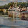 Docked Shrimpboats