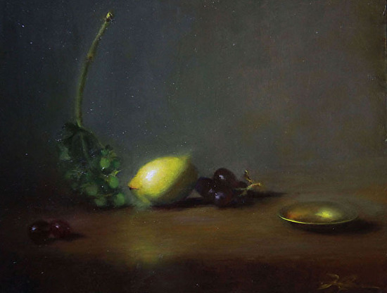 Lemon and Grapes - Oil