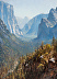 Ahwahnee; Yosemite Valley View by James McGrew