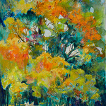 Holly Hunter Berry - Contemporary Mixed Media Landscape Workshop