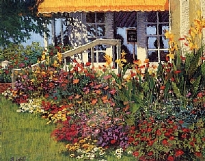 Mackinac Garden by Sharon Will  ~ Note Cards<br/ > 4.50&quot; x 6.25&quot;