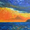 Mount Iliamna at Sunset