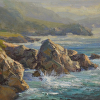 Point Lobos 12 by 16