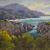 Point Lobos Light 24 by 30