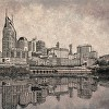 Nashville Skyline Reflection