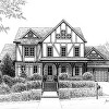 Franklin Tennessee Custom home drawing
