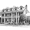 Franklin Tennessee Custom home drawing 2