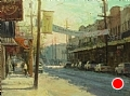 Life on Magazine Street- New Orleans by Scott Tallman Powers Oil ~ 18 x 24
