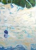 Zen Beach 2 by Suzanne DeCuir Oil ~ 40 x 30