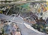 Skagit Boneyard by Suzanne DeCuir Oil ~ 36 x 48