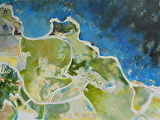 Coastline by Suzanne DeCuir Oil ~ 36 x 40