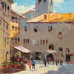 Michele Byrne - Painting In Sicily