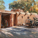 Michele Byrne - OPA - Oil Painter's of America Annual Convention in Santa Fe, NM