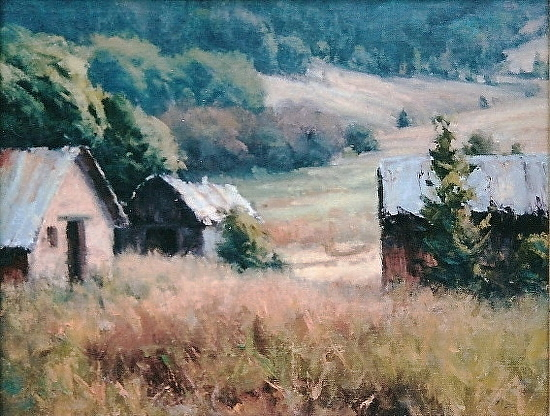 The Old Place - Oil