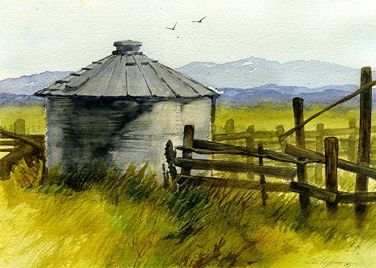 Seasons Past - Watercolor