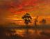 Scarlet Clouds by Gerard Erley