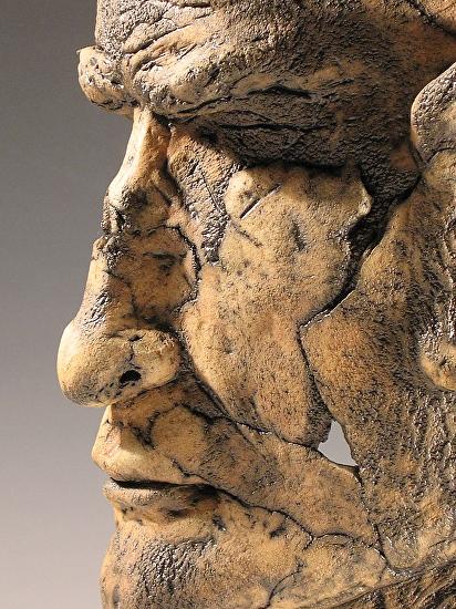 Archaic Head II (detail) -