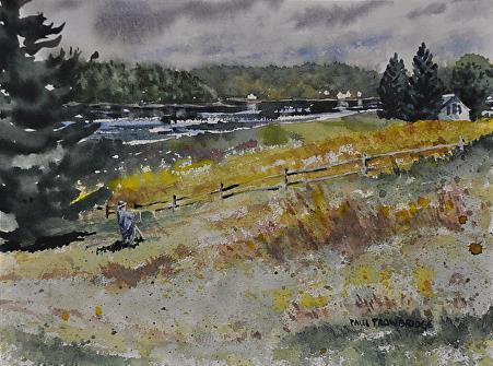 Scott's Landing - Watercolor