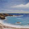Monterey Morning seascape oil painting