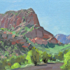 Holt- Kolob- 1JUN14- 9x12- oil- 2014
