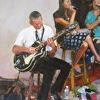 Holt- Gypsy Jazz II- 16x12- oil- 2014- Studio