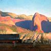 Holt- New Harmony- Farming the Gates of Heaven- 14x18- oil- 2015- studio