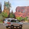 Holt- Chip's Car- St. George- 9x12- oil- 2014- plein air