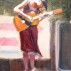 Holt-Caitlyn Sevy at Groovefest-study-6x8-oil-2012