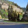 Holt- Cedar Canyon 5JUL14- v4- 9x12- oil- 2014- plein air