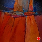 Grand Canyon 2, 06408 by Carol Nelson Acrylic ~ 36 x 36