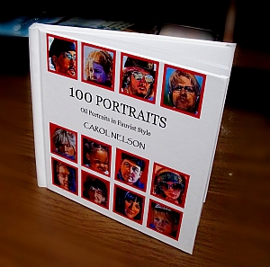 Book - 100 Portraits by Carol D Nelson