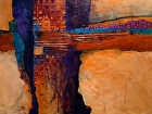 Tucson   12054 by Carol Nelson mixed media ~ 18 x 24