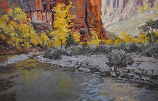 Virgin River Satin - Oil