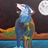 Moonwalker  Geclee on Canvas