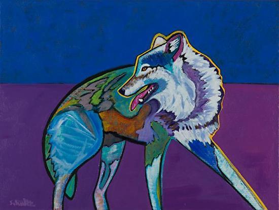 Wolf - Acrylic