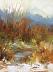 Through The Brush    Oil by Dorothy Schildknecht