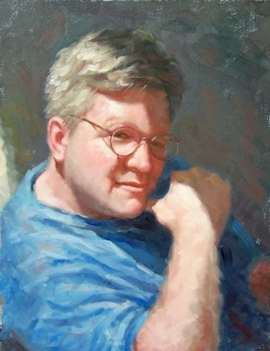 Self Portrait - Oil
