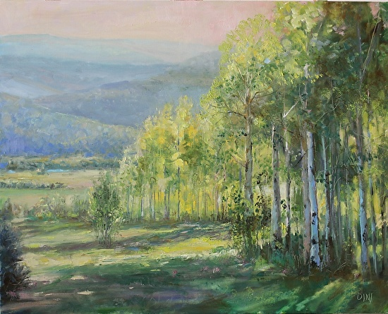 HIGH COUNTRY SUMMER - Oil