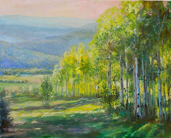HIGH COUNTRY SUMMER (TRANQUILITY) - Oil