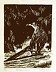 "Roadrunner by Diane Cutter Woodcut ~ 6.75"" x 5.25"""