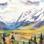 Christine Fortner - - Class, Painting Landscape in Watercolor, Tuesdays