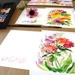 Mountain Sage Gallery - WATERCOLOR & WINE CLASS BY SVITLANA PROUTY