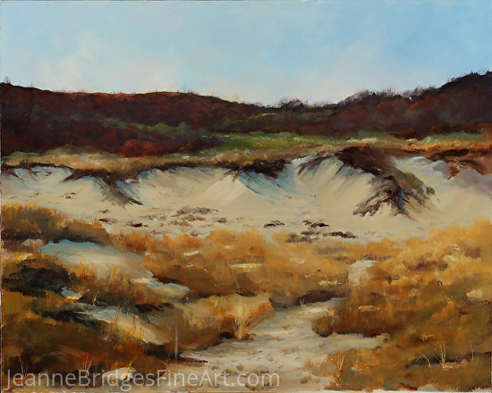 New England Dunes - Oil
