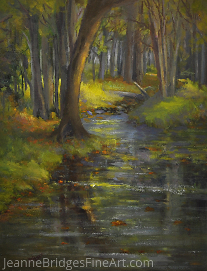 Approaching Spring - Oil