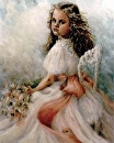 Paige by Susan S. Birdwell Oil ~ 40 x 30