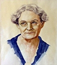 Mamaw by Susan S. Birdwell Watercolor ~ 16 x 12