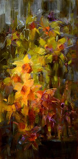 Daffodil Daze - Oil