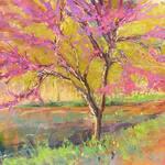 Julie Skoda - Evening Pastel Painting