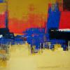 Primary Panorama VI Acrylic 36x45